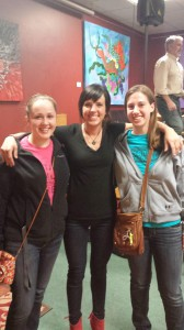 Kaleigh Glanton, Lizzie, and myself